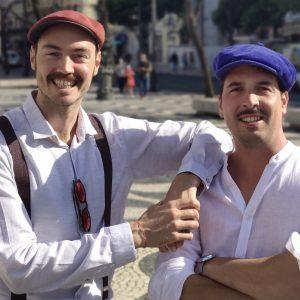 Elliot et Sylvain le duo qui gère avec brio depuis plus de 5 ans la societé Monlisbonne.com